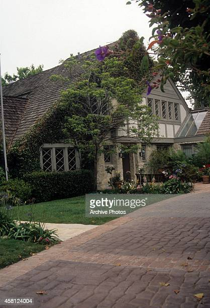 J Simpson's Rockingham Estate in Brentwood is shown in June 1994 in Brentwood California