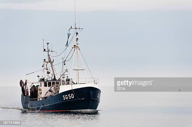 Simrishamn, Sweden: Trawler returning to port