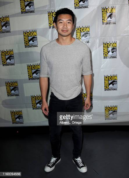 Simu Liu attends the Marvel Studios Panel during 2019 Comic-Con International at San Diego Convention Center on July 20, 2019 in San Diego,...