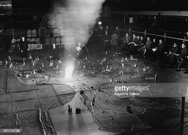 Simulation Of A Bomb Attack To Study The Civil Defence Problem In London On January 27Th 1953