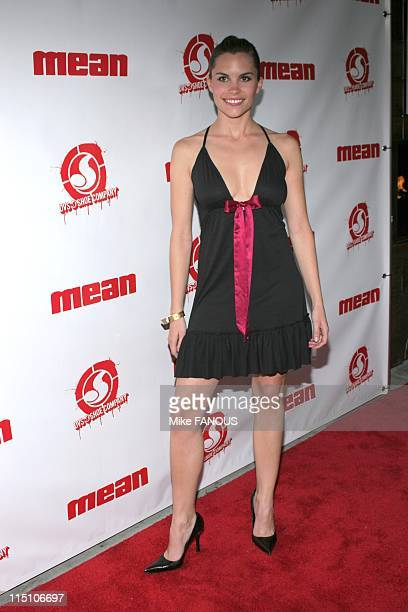 Sin City' Mean Magazine Launch Party in Hollywood United States on March 29 2005 Ashley Bashioum at the 'Sin City' Mean Magazine Launch Party at...