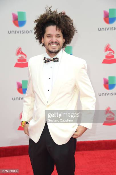 Sin Suela attends the 18th Annual Latin Grammy Awards at MGM Grand Garden Arena on November 16 2017 in Las Vegas Nevada
