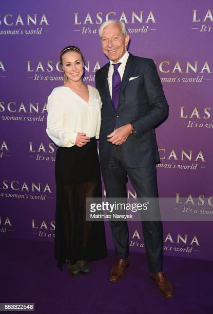 Sina Tkotsch and Jo Groebel attends the opening of the 'Sound of Passion' exhibition for dessous brand LASCANA at Hotel de Rome on November 30 2017...