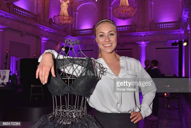 Sina Tkotsch attend the exhibition opening 'Sound of Passion' at Hotel De Rome on November 30 2017 in Berlin Germany