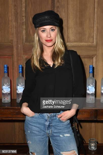 Sina Tkotsch attends the Grey Goose afterparty for Idris Elba's film 'Yardie' hosted at Soho House Berlin on February 22 2018 in Berlin Germany