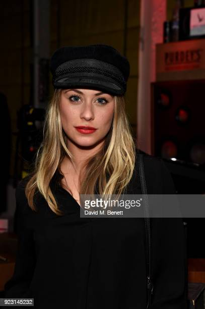 Sina Tkotsch attends the Idris Elba Yardie Screening AfterParty Berlin IFF at Soho House on February 22 2018 in Berlin Germany