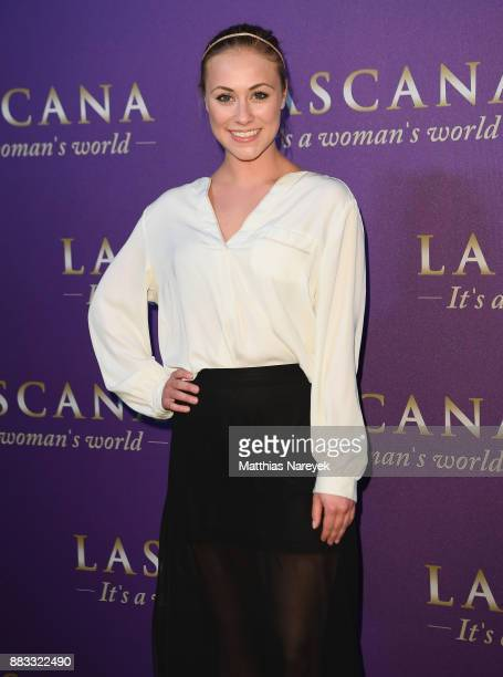 Sina Tkotsch attends the opening of the 'Sound of Passion' exhibition for dessous brand LASCANA at Hotel de Rome on November 30 2017 in Berlin Germany
