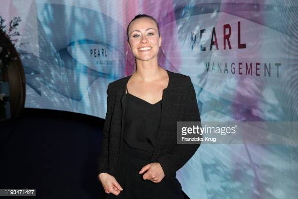 Sina Tkotsch during the PEARL Model Management Fashion Aperitif at The Reed on January 13 2020 in Berlin Germany