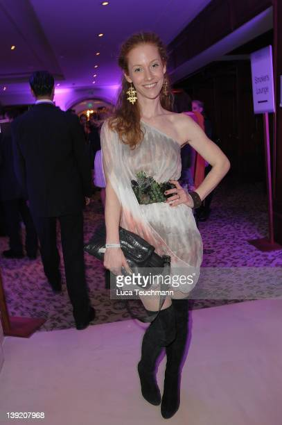Sina Valeska Jung attend the Tele 5 Director's Cut during day nine of the 62nd Berlin International Film Festival at Hotel Adlon on February 17 2012...