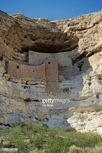 sinagua cliff dwellings - sinagua stock pictures, royalty-free photos & images