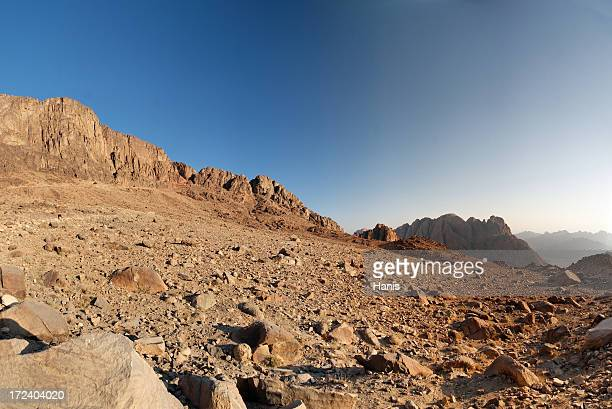 sinai morning - extreme terrain stock pictures, royalty-free photos & images