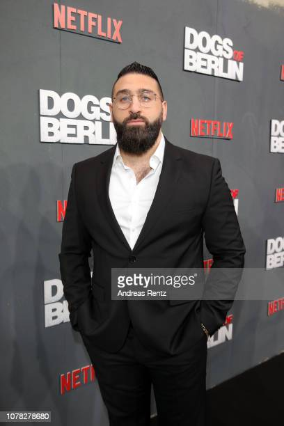 Sinan Farhangmehr attends the premiere of the Netflix Original Series 'Dogs of Berlin' at Kino International on December 06, 2018 in Berlin, Germany.