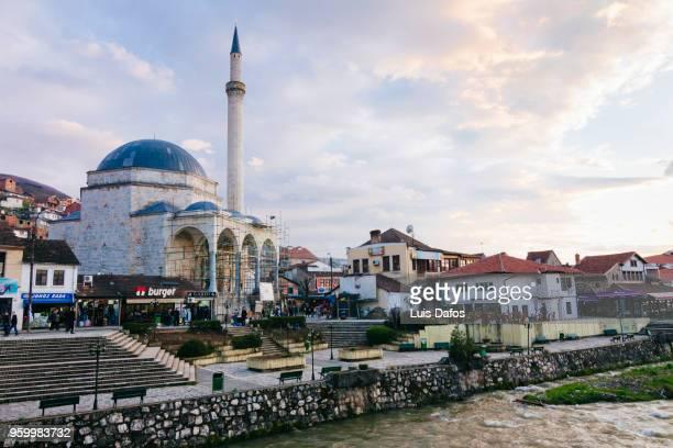 Sinan Pasha Mosque at sunset