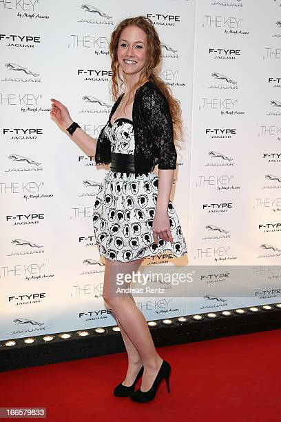 SinaValeska Jung attends the Jaguar FType short film 'The Key' Premiere at eWerk on April 13 2013 in Berlin Germany