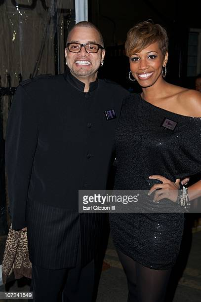 Sinbad and his daughter Paige Bryan attend the 10th Annual Heroes In The Struggle Gala Concert on December 1 2010 in Hollywood California