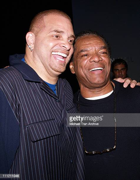 Sinbad and John Witherspoon during MercedesBenz Spring 2007 LA Fashion Week at Smashbox Studios Kevan Hall Front Row and Backstage at Smashbox in...