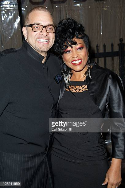Sinbad and Mikki Howard attend the 10th Annual Heroes In The Struggle Gala Concert on December 1 2010 in Hollywood California