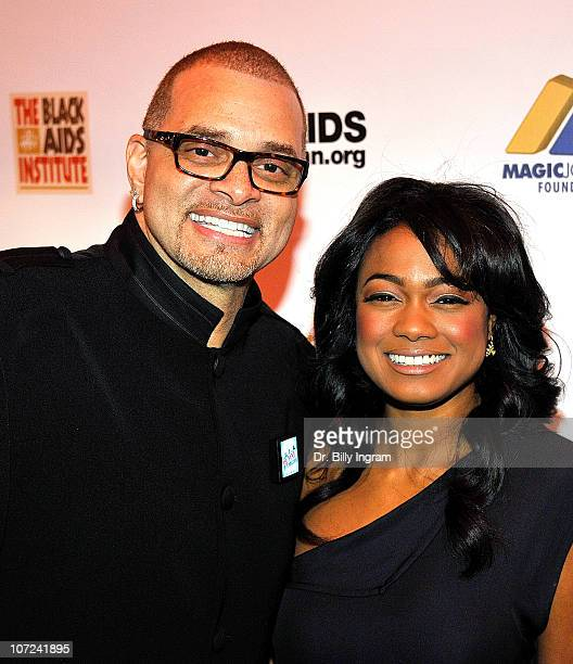 Sinbad and Tatyana Ali attend the 10th Annual Heroes in the Struggle Gala at the Avalon on December 1 2010 in Hollywood California