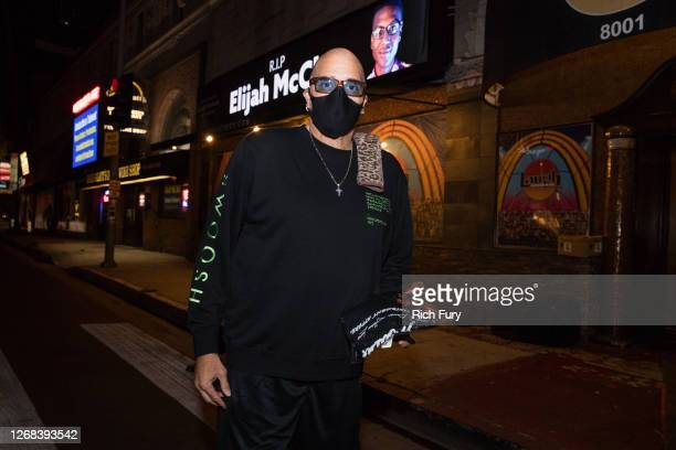 Sinbad attends a candlelight vigil to demand justice for Elijah McClain on the one year anniversary of his death at The Laugh Factory on August 24...