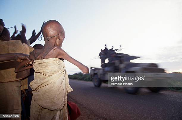 Since 1988 the civil war disrupted the economy and food distribution in Somalia In 1992 the UN launched a peacekeeping and humanitarian operation...
