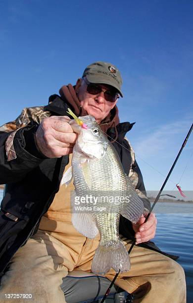 Since last fall Warren Kreutziger and others have been catching a lot of nice crappie at Marion Reservoir in Kansas