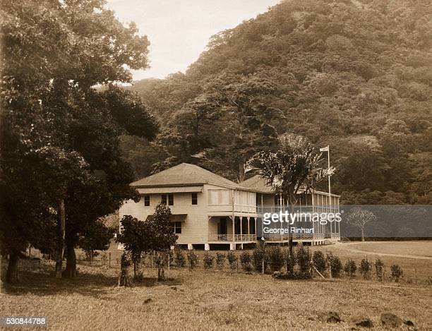 Since New Zealand took over the German group of Samoa the British Governor is living in this Historic residence Valima The home of Robert Louis...