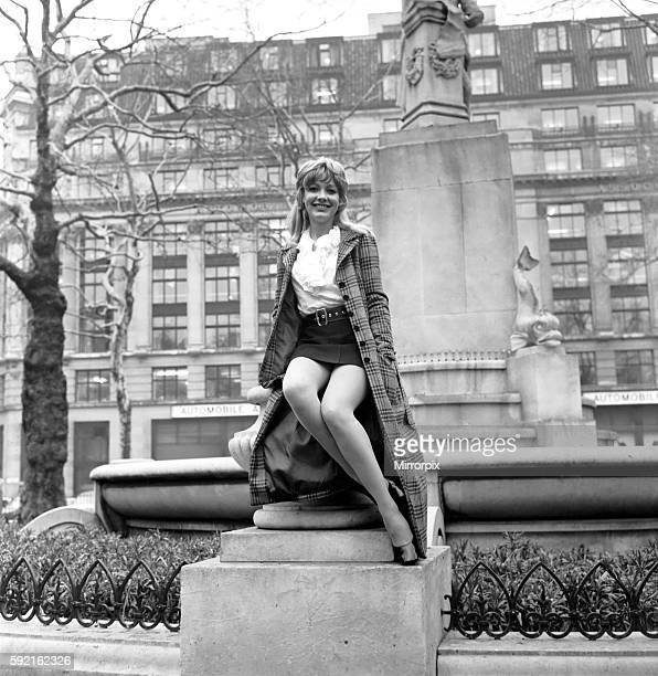 Since the play opened on 16th October this part has been played by Judith Arthy Jacki Piper photographed in London December 1969 Z11933001