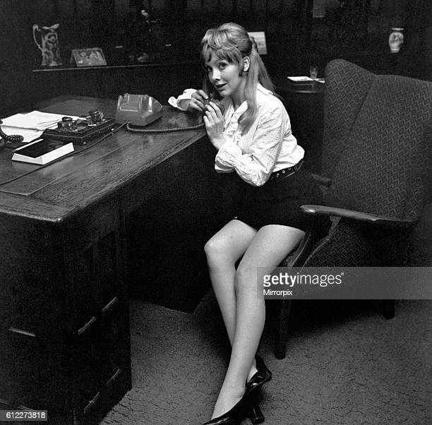 Since the play opened on 16th October this part has been played by Judith Arthy Jacki Piper photographed in London December 1969 Z11933003