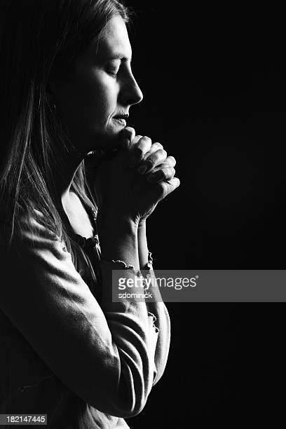 Ehrlich Gebet & (schwarz-weiß