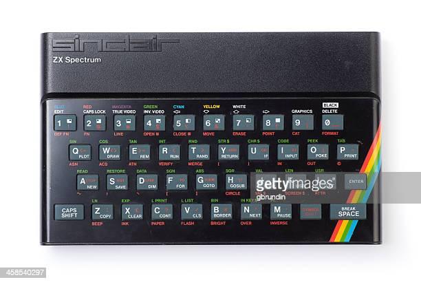 sinclair zx spectrum - spectrum stock photos and pictures