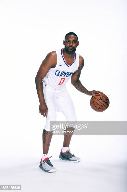 Sindarius Thornwell of the Los Angeles Clippers poses for a portrait during the 201718 NBA Media Day at the Los Angeles Clippers Training Center on...