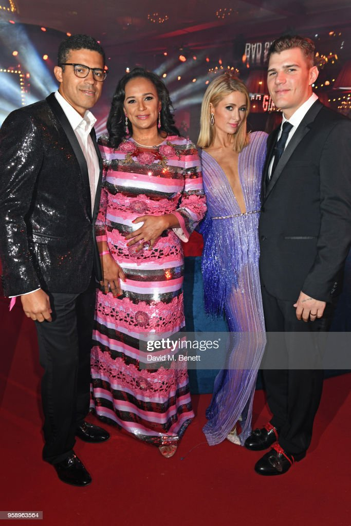 Sindika Dokolo Isabel Dos Santos Paris Hilton And Chris Zylka News Photo Getty Images