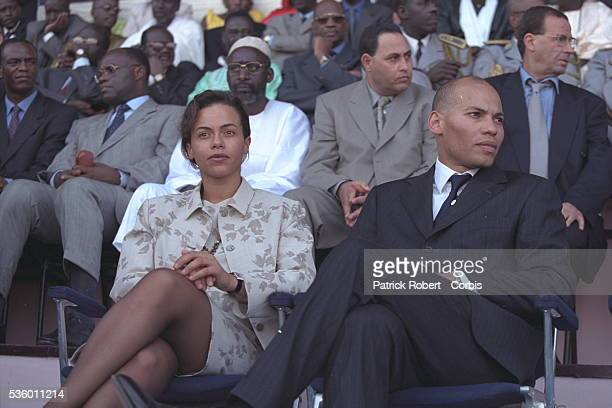 Sindjely and Karim Wade the President's children