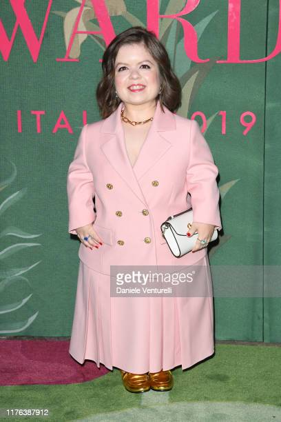 Sinead Burke attends the Green Carpet Fashion Awards during the Milan Fashion Week Spring/Summer 2020 on September 22, 2019 in Milan, Italy.