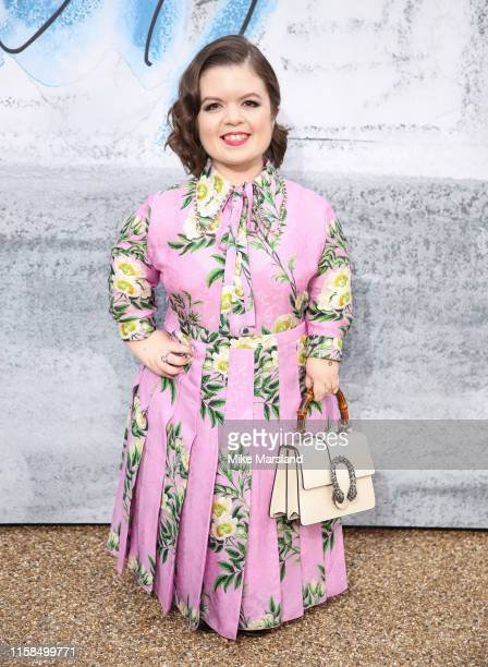 Sinead Burke attends The Summer Party 2019 Presented By Serpentine Galleries And Chanel at The Serpentine Gallery on June 25 2019 in London England