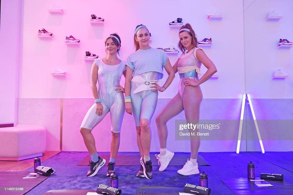 GBR: Nicholas Kirkwoods Sneaker Launch Event