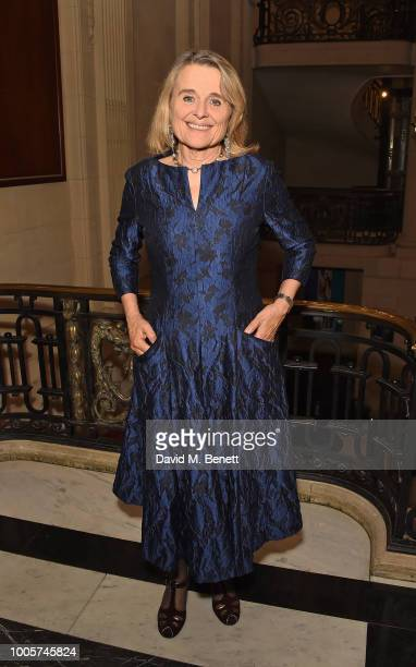 Sinead Cusack attends the press night after party for 'King Lear' at No11 Carlton House Terrace on July 26 2018 in London England