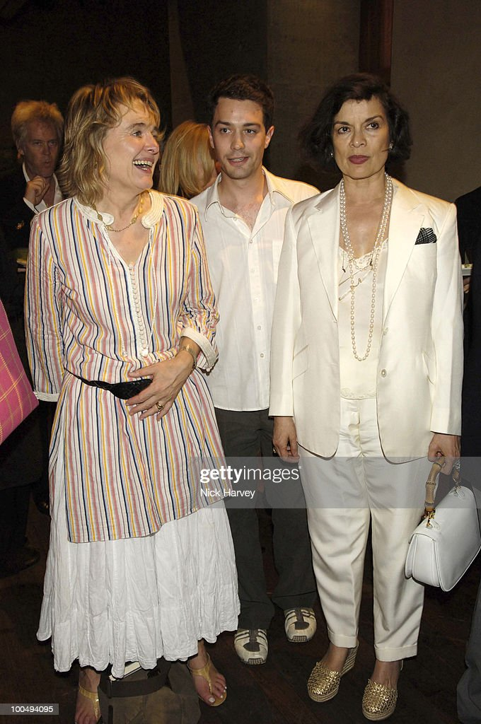 Sinead Cusack, Christian Coulson and Bianca Jagger