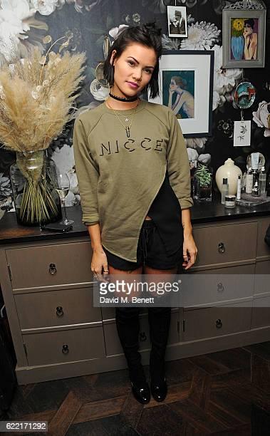 Sinead Harnett attends 5 Years of Gazelli SkinCare on November 10 2016 in London England