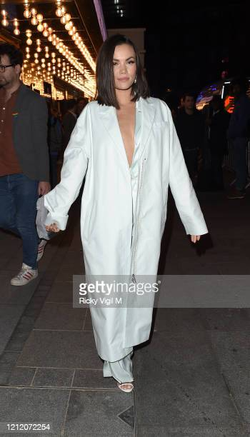 Sinead Harnett attends the European Premiere of Mulan at Odeon Luxe Leicester Square on March 12 2020 in London England
