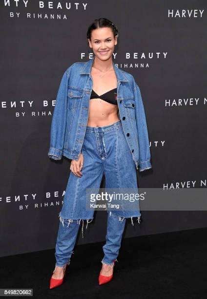 Sinead Harnett attends the 'FENTY Beauty' by Rihanna launch Party at Harvey Nichols Knightsbridge on September 19 2017 in London England