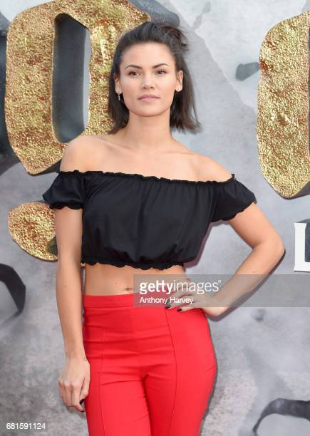 Sinead Harnett attends the 'King Arthur Legend of the Sword' European premiere at Cineworld Empire on May 10 2017 in London United Kingdom