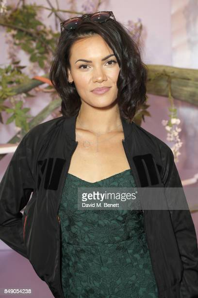Sinead Harnett attends the Sophia Webster SS18 Presentation at The Portico Rooms Somerset House on September 18 2017 in London England