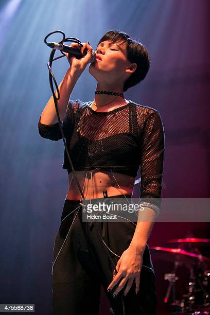 Sinead Harnett performs at New Look The Road to Wireless at O2 Shepherd's Bush Empire on June 1 2015 in London United Kingdom