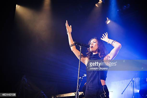 Sinead Harnett performs on stage on Day 1 of MTV Brand New 2015 at Islington Assembly Hall on January 28 2015 in London United Kingdom