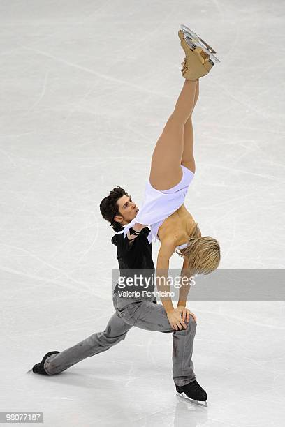 Sinead Kerr and John Kerr of Great Britain compete during the Ice Dance Free Dance at the 2010 ISU World Figure Skating Championshipson March 26 2010...