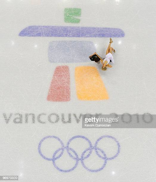 Sinead Kerr and John Kerr of Great Britain compete in the free dance portion of the Ice Dance competition on day 11 of the 2010 Vancouver Winter...