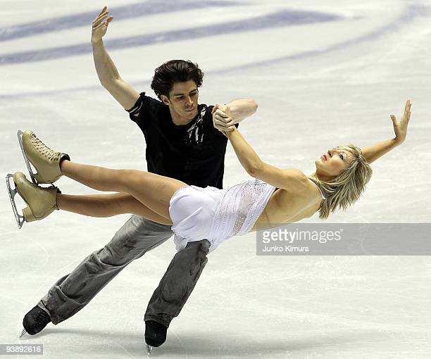 Sinead Kerr and John Kerr of Great Britain competes in the Ice Dance Free Dance on the day two of ISU Grand Prix of Figure Skate Final at Yoyogi...