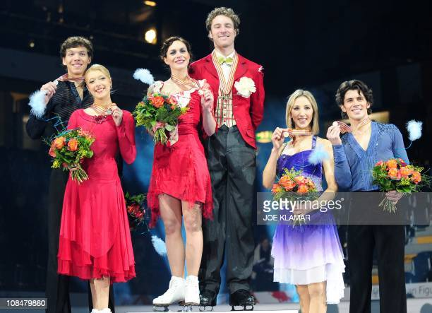 Sinead Kerr and John Kerr of Great Britain Ekaterina Bobrova and Dmitri Soloviev of Russia and Nathalie Pechalat and Fabian Bourzat of France...