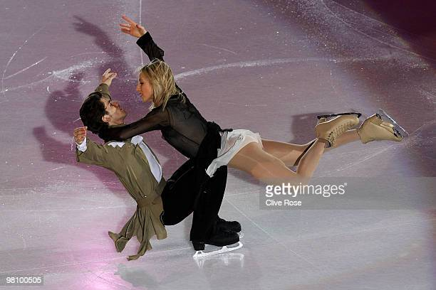 Sinead Kerr and John Kerr of Great Britain participate in the Gala Exhibition during the 2010 ISU World Figure Skating Championships on March 28 2010...